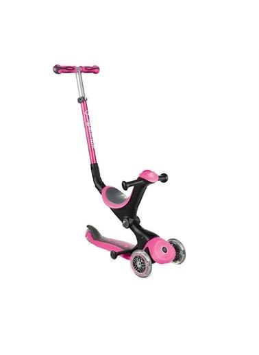 Globber Globber Go Up Deluxe Scooter Pembe